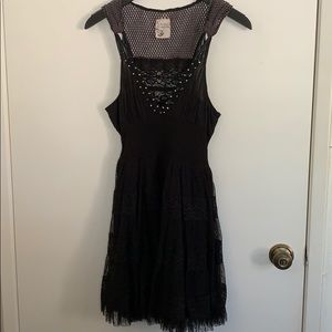 Free People Mixed Media Dress in Size 6